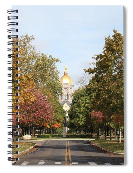 University Of Notre Dame Spiral Notebook