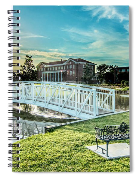 University Of Southern Mississippi Spiral Notebook