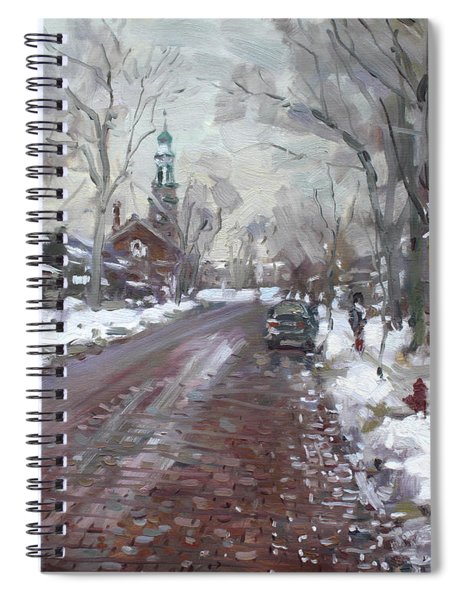 University Presbyterian Church Spiral Notebook