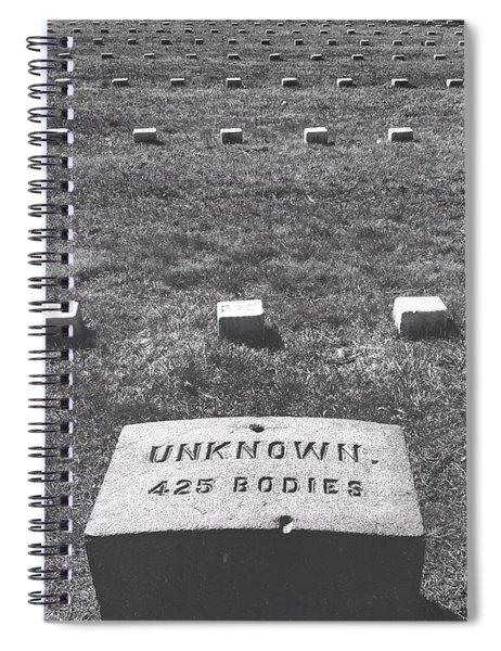 Unknown Bodies Spiral Notebook