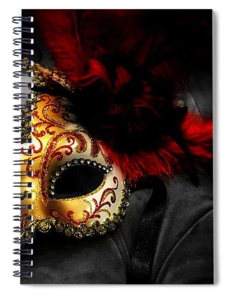 Unmasked Spiral Notebook