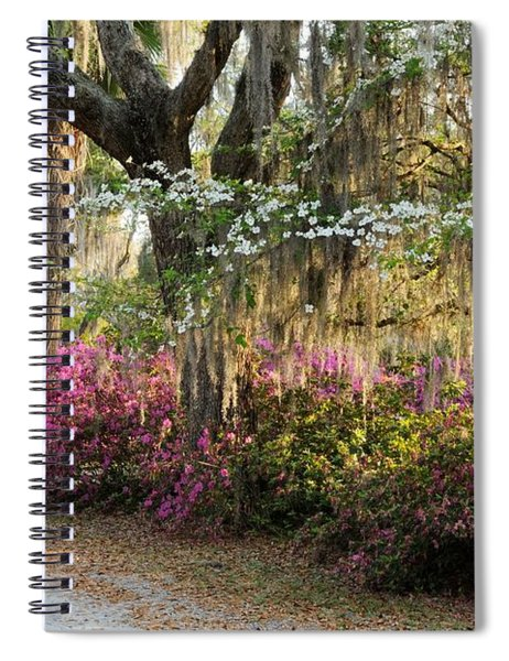 Unpaved Road In Spring Spiral Notebook
