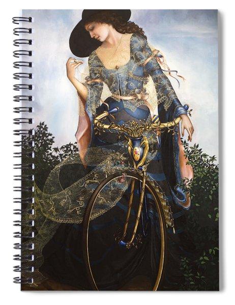 Unstuck In Time Spiral Notebook