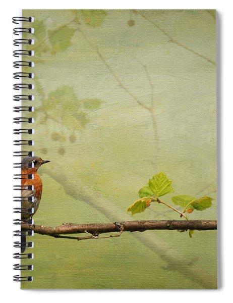 Until Spring Spiral Notebook