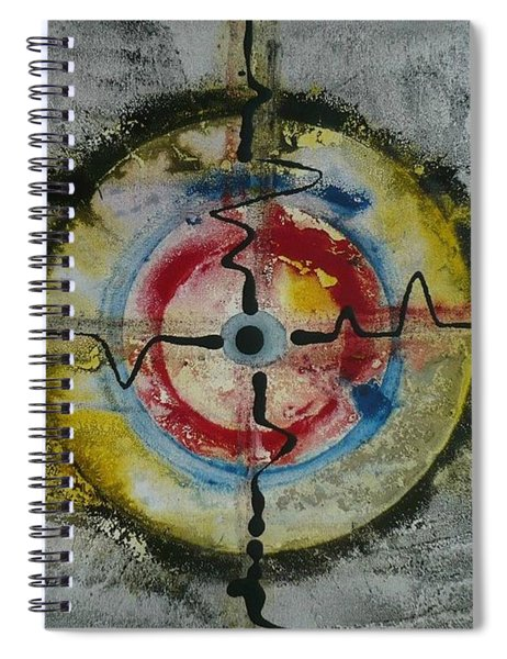 Four Directions Energy Spiral Notebook