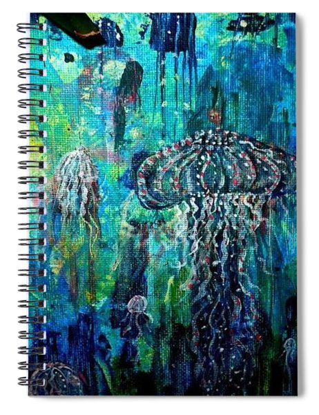 Ocean Deep Spiral Notebook