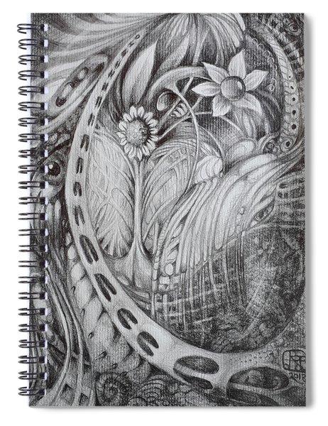 Untitled A5 2018-08-01 Spiral Notebook