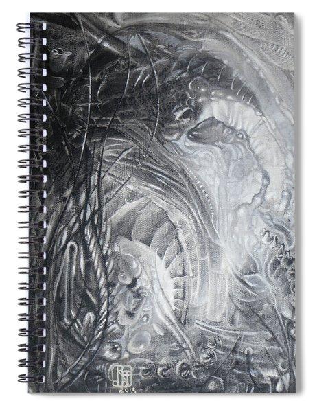 Untitled July 2018 Spiral Notebook