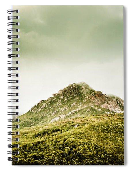 Untouched Mountain Wilderness Spiral Notebook