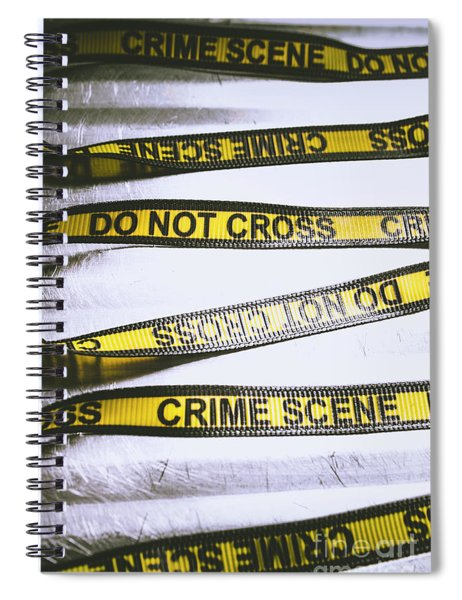 Unwrapping A Murder Investigation Spiral Notebook