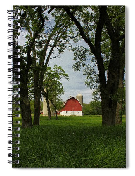 Up Yonder Spiral Notebook