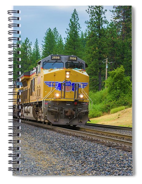 Spiral Notebook featuring the photograph Up5698 by Jim Thompson
