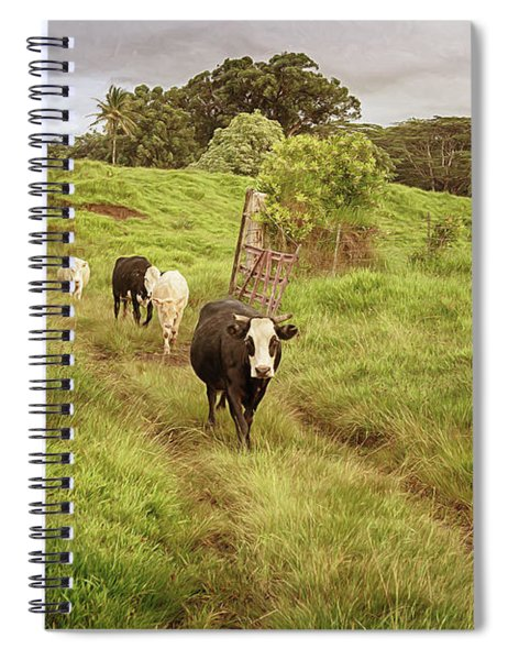 Upcountry Ranch Spiral Notebook