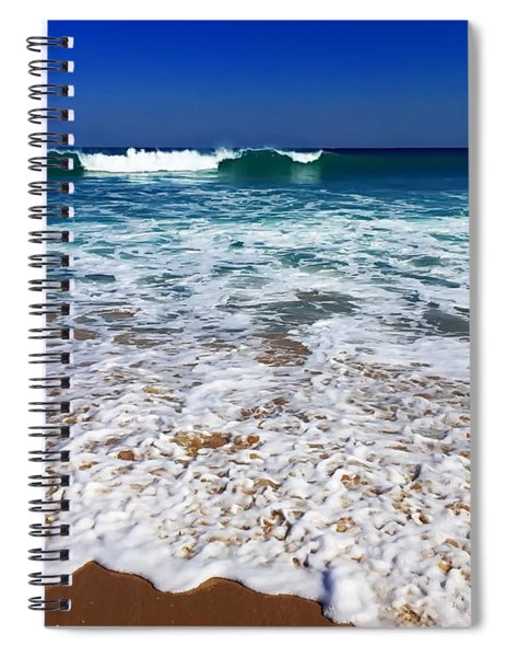 Upon Entry Spiral Notebook