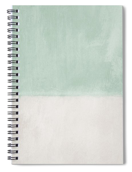 Upon Our Sighs 2- Abstract Art Spiral Notebook
