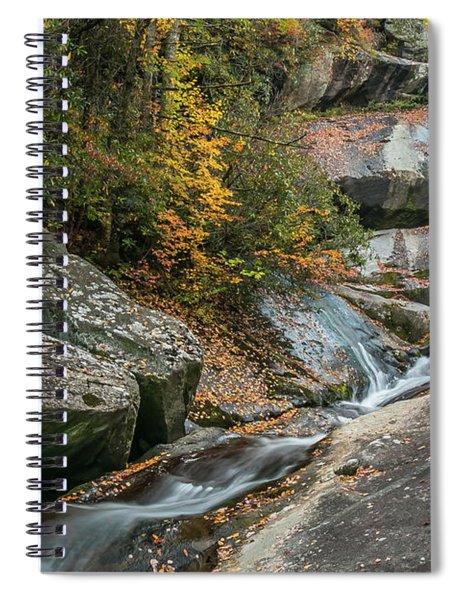 Upper Creek Falls Spiral Notebook