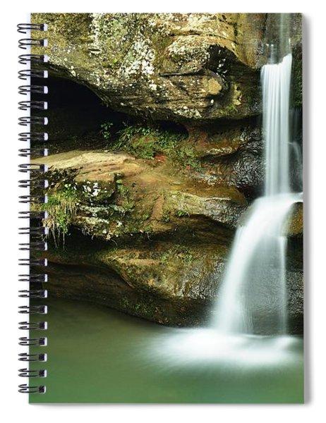 Upper Falls Closeup Spiral Notebook