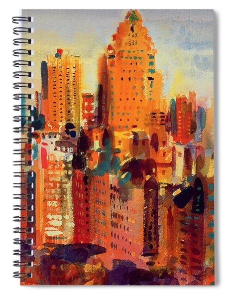 Upper Manhattan Spiral Notebook