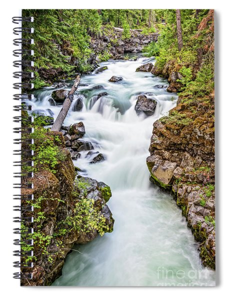 Upper Rogue River Spiral Notebook