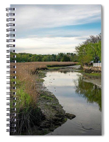 Upper Saugatuck River - Westport By Mike-hope Spiral Notebook