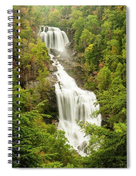 Upper Whitewater Falls Spiral Notebook