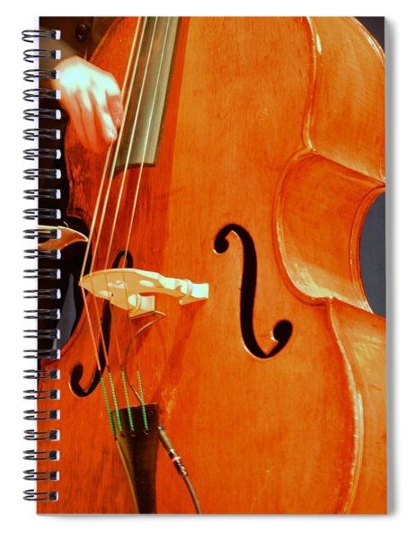 Upright Bass 3 Spiral Notebook