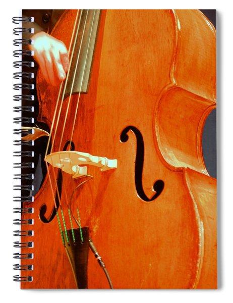 Upright Bass 3 Spiral Notebook