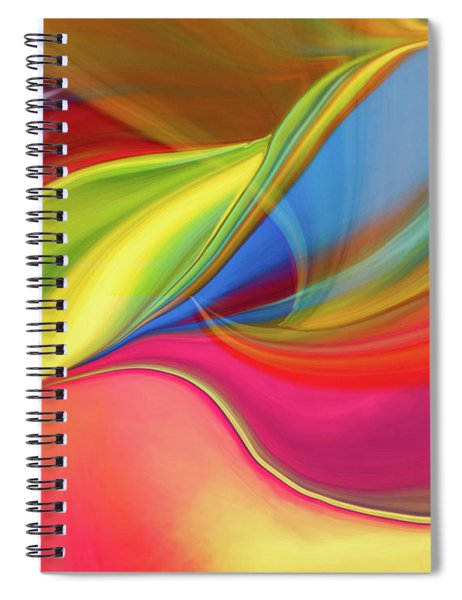Upside Down Inside Out Spiral Notebook