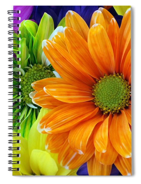 Upstaged By Orange Spiral Notebook