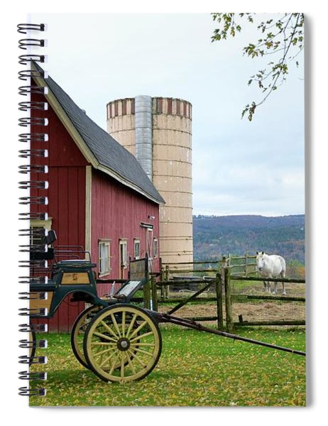 Upstate Vermont Spiral Notebook