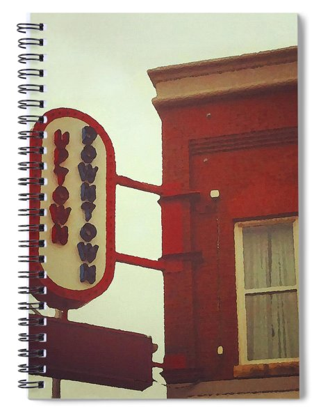 Uptown Downtown  Spiral Notebook