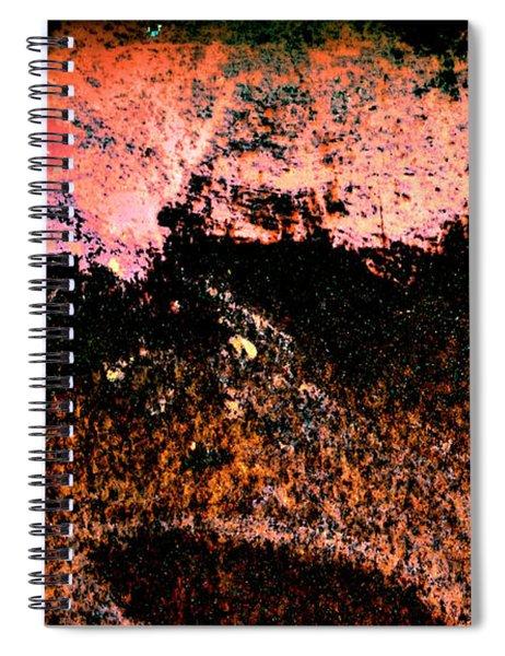 Urban Abstract Spiral Notebook