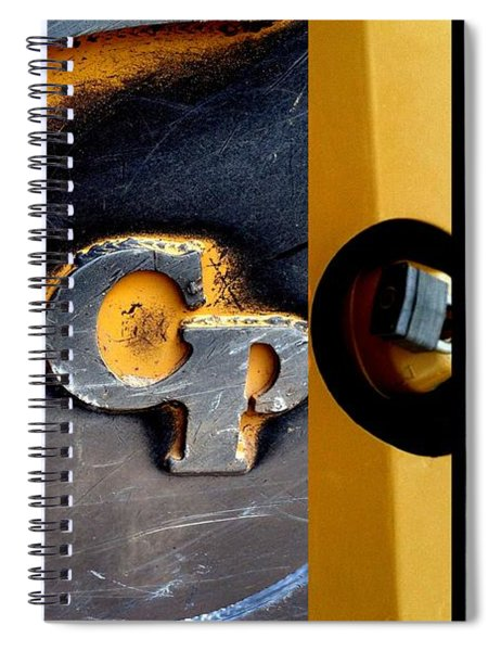 Urban Abstracts Cp Spiral Notebook