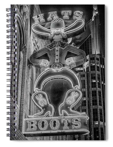 Urban Cowboy - Nashville Spiral Notebook