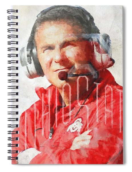 Urban Meyer Spiral Notebook