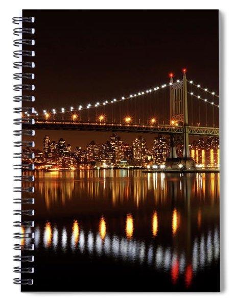 Triboro Bridge Brilliance Spiral Notebook