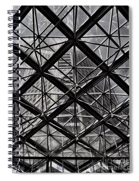 Urban Patterns - Sao Paulo  Spiral Notebook