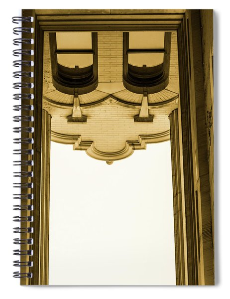 Urban Portals - Architectural Abstracts Spiral Notebook