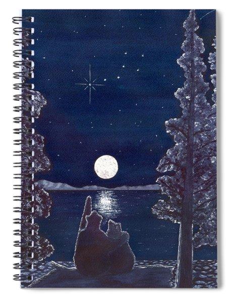 Ursa Minor Spiral Notebook