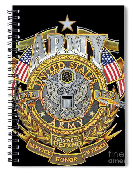 Us Army Spiral Notebook