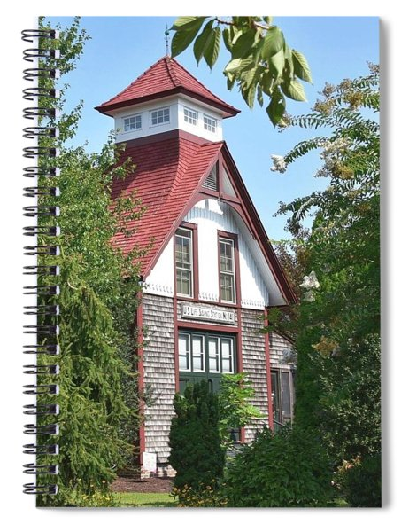 U.s. Lifesaving Station No 141 Spiral Notebook