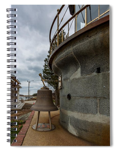 Us Lighthouse Service Bell Spiral Notebook