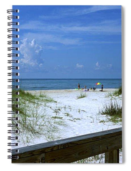 Usa, Florida, Gulf Of Mexico, St Spiral Notebook