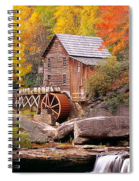 Usa, West Virginia, Glade Creek Grist Spiral Notebook