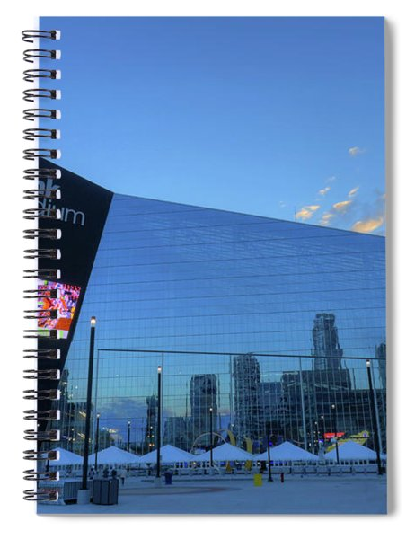 Usbank Stadium Morning Spiral Notebook