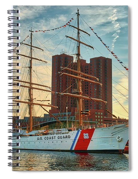 Uscgc Barque Eagle  Spiral Notebook