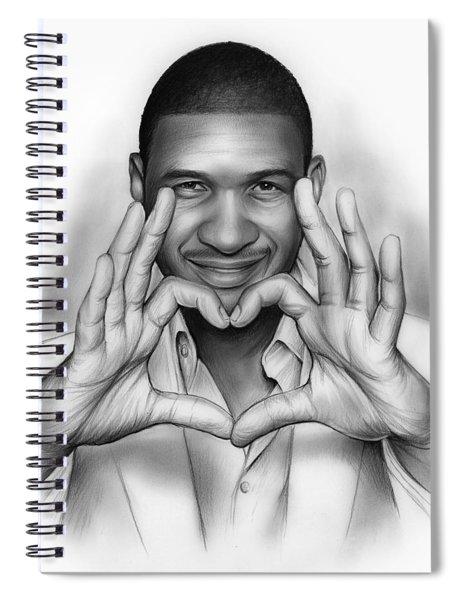Usher Spiral Notebook
