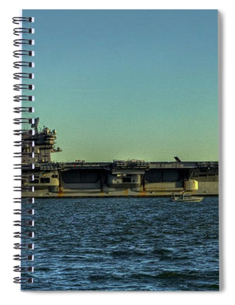 Uss George Hw. Bush Spiral Notebook