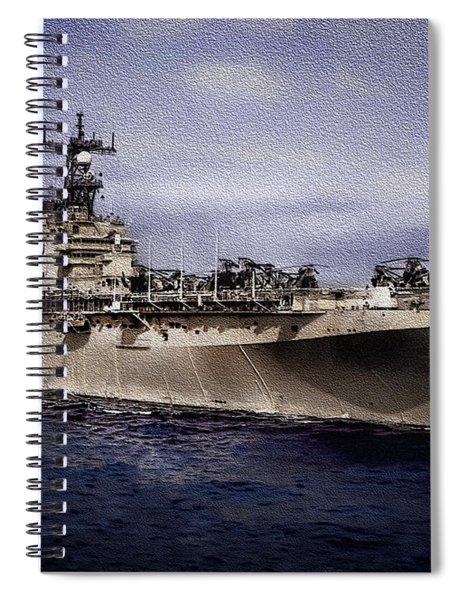 Uss Iwo Jima Lph2 Spiral Notebook