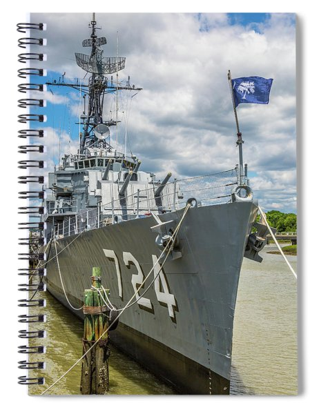 Uss Laffey Dd-724 Spiral Notebook